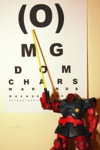 Robot eye test Visual Q Eyecare Melbourne Optometrist