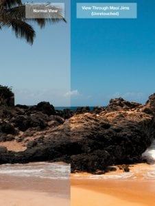 The Polarised Lens Difference Maui Jim Sunglasses Visual Q Eyecare Melbourne