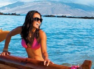 Beautiful Woman Canoe Maui Jim Sunglasses Visual Q Eyecare Melbourne