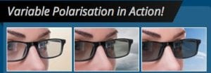 Transitions Vantage variable polarisation lenses Visual Q Eyecare Melbourne South Yarra Richmond